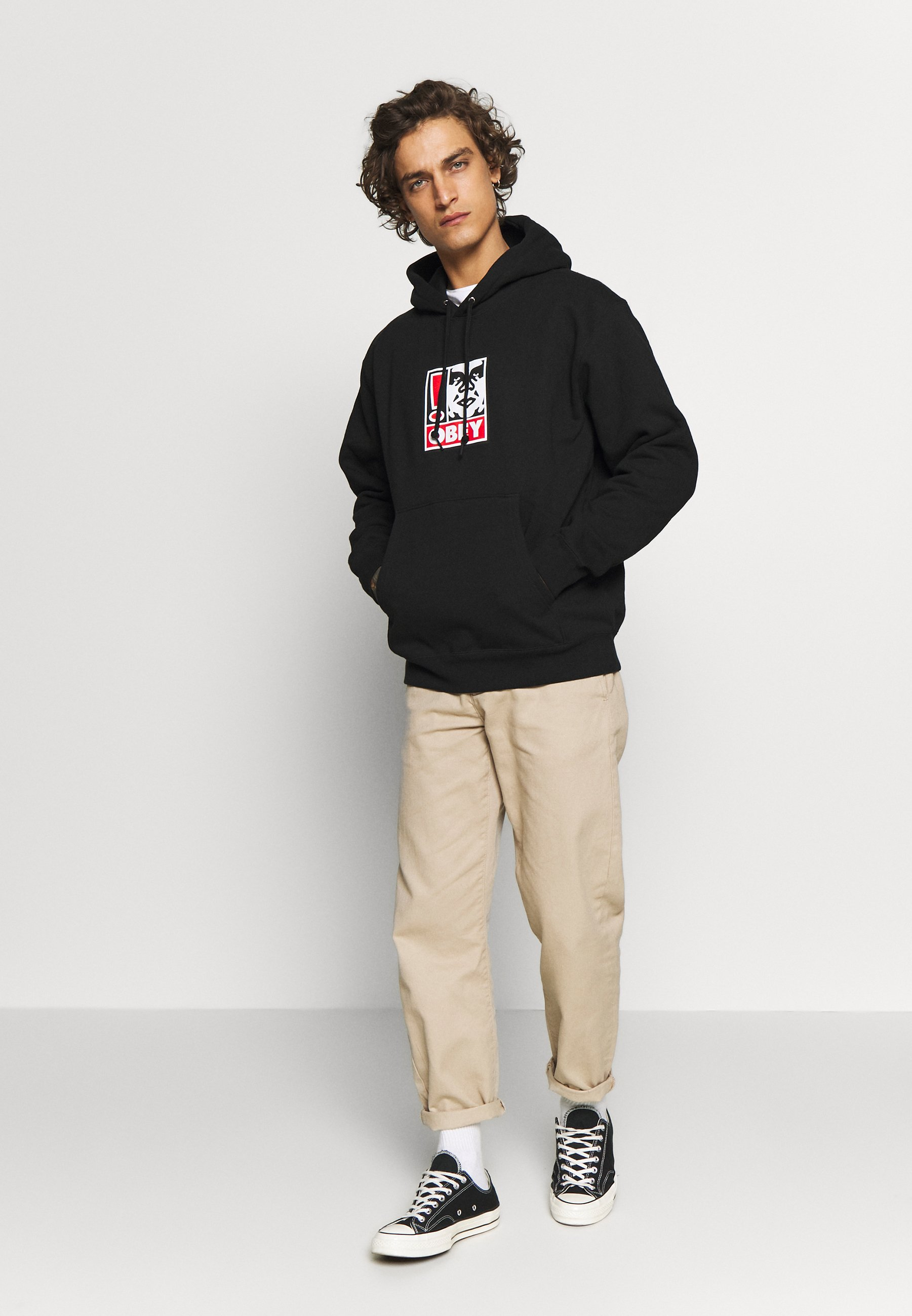 Obey Clothing OBEY EXCLAMATION POINT Hoodie black