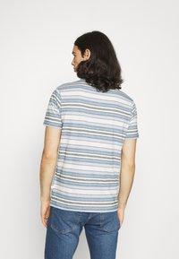 KnowledgeCotton Apparel - ALDER STRIPED TEE - Print T-shirt - asley blue - 3