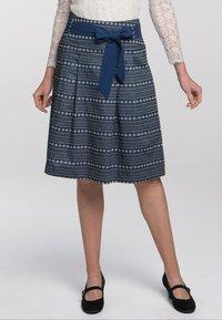 Spieth & Wensky - A-line skirt - dunkelblau - 0