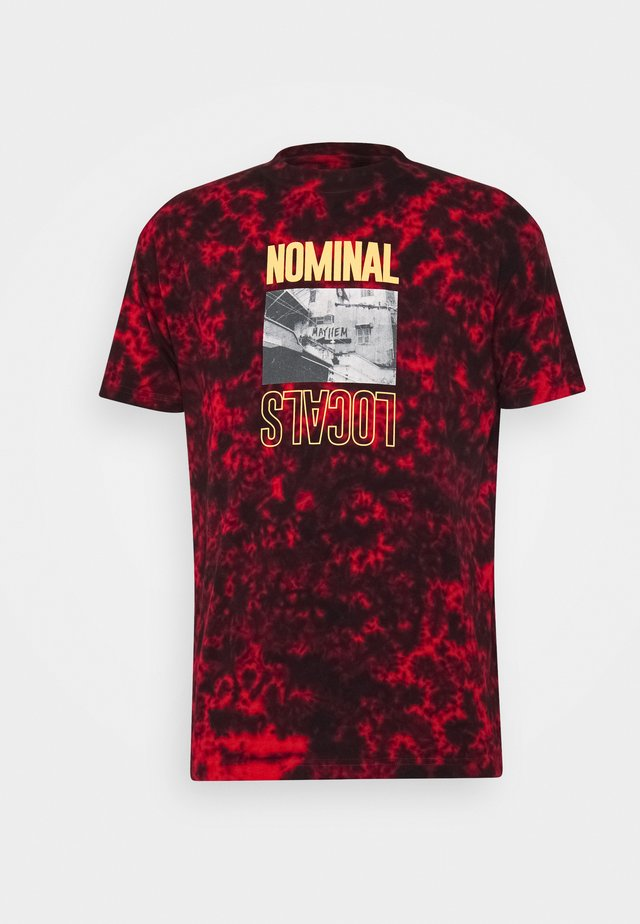 LOCALS TEE - T-shirts print - red