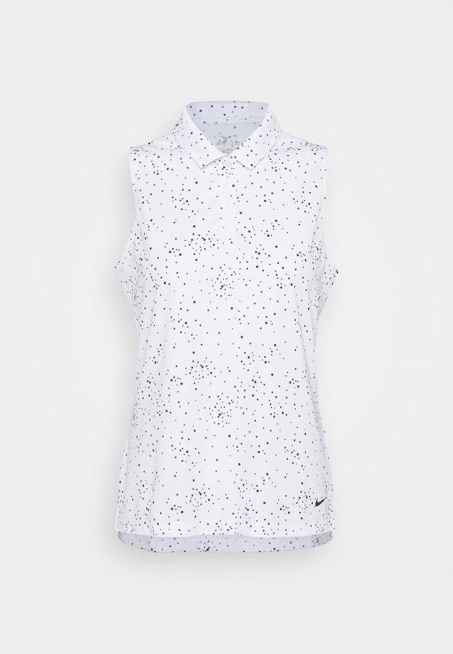 DRY DOT - Poloshirt - white/black
