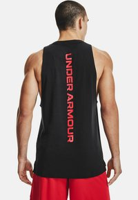 Under Armour - Top - black  red  red - 2