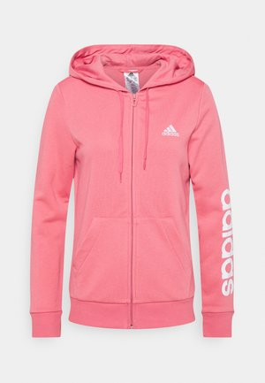 veste en sweat zippée - light pink