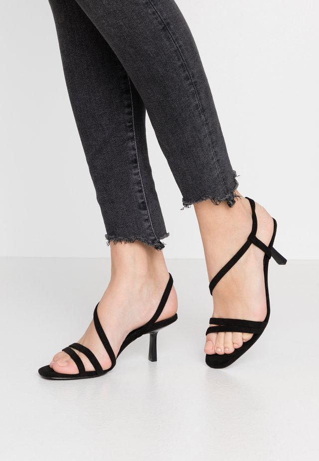 MISO - Sandales - black
