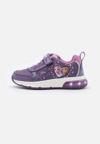 DISNEY FROZEN ELSA ANNA JUNIOR SPACECLUB GIRL - Trainers - purple/mauve