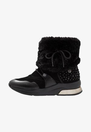 KARLIE - Lace-up ankle boots - black