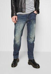 G-Star - WOKKIE - Slim fit jeans - elto pure stretch denim-antic faded baum blue - 3
