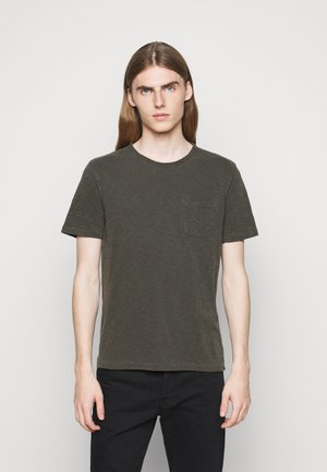 WILD ONES POCKET - T-shirt basic - dark olive