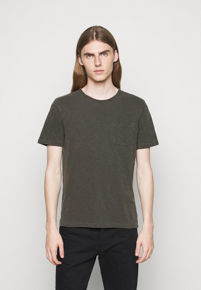 WILD ONES POCKET - T-shirt basique - dark olive
