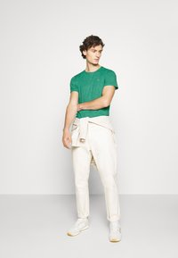 Tommy Jeans - ESSENTIAL JASPE TEE - T-shirt basic - midwest green - 1