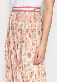Rich & Royal - PLISSEE SKIRT - Pleated skirt - white stone - 3