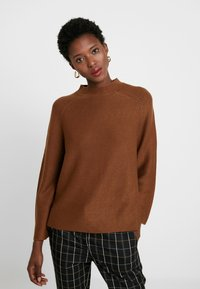 s.Oliver BLACK LABEL - LANGARM - Jumper - winter hazelnut - 3