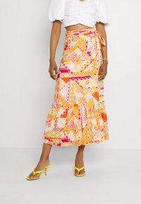Never Fully Dressed - LOLA WRAP SKIRT - Maxi skirt - multi - 0
