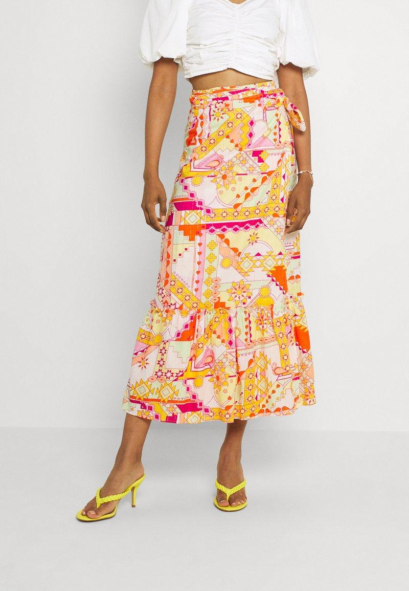 Never Fully Dressed - LOLA WRAP SKIRT - Maxi skirt - multi