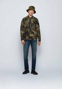 BOSS - MAINE - Slim fit jeans - dark blue - 1
