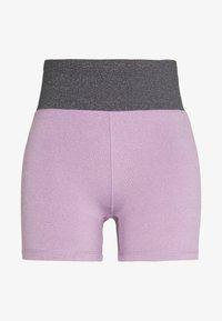 Cotton On Body - SO SOFT SHORT - Leggings - concrete marle/faded grape marle - 3