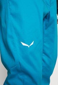Salewa - AGNER - Spodnie materiałowe - blue danube - 6