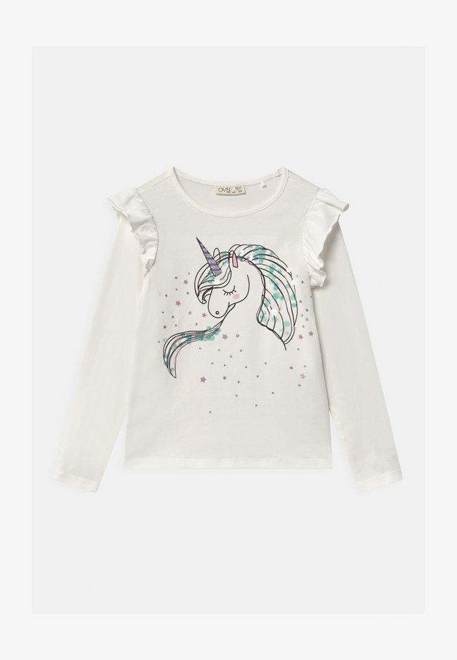 Maglietta a manica lunga - snow white