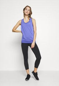 Nike Performance - W NK INFINITE TANK - Camiseta de deporte - sapphire/light thistle - 1