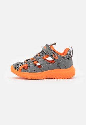 KI-ROCK LITE  - Sandały trekkingowe - steel grey/orange mono