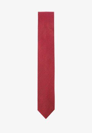 Tie - dark red