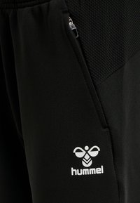 Hummel - LEAD POLY - Tracksuit bottoms - black - 4