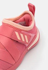 adidas Performance - FORTARUN X UNISEX - Neutral running shoes - glow pink/hazy rose/footwear white - 5