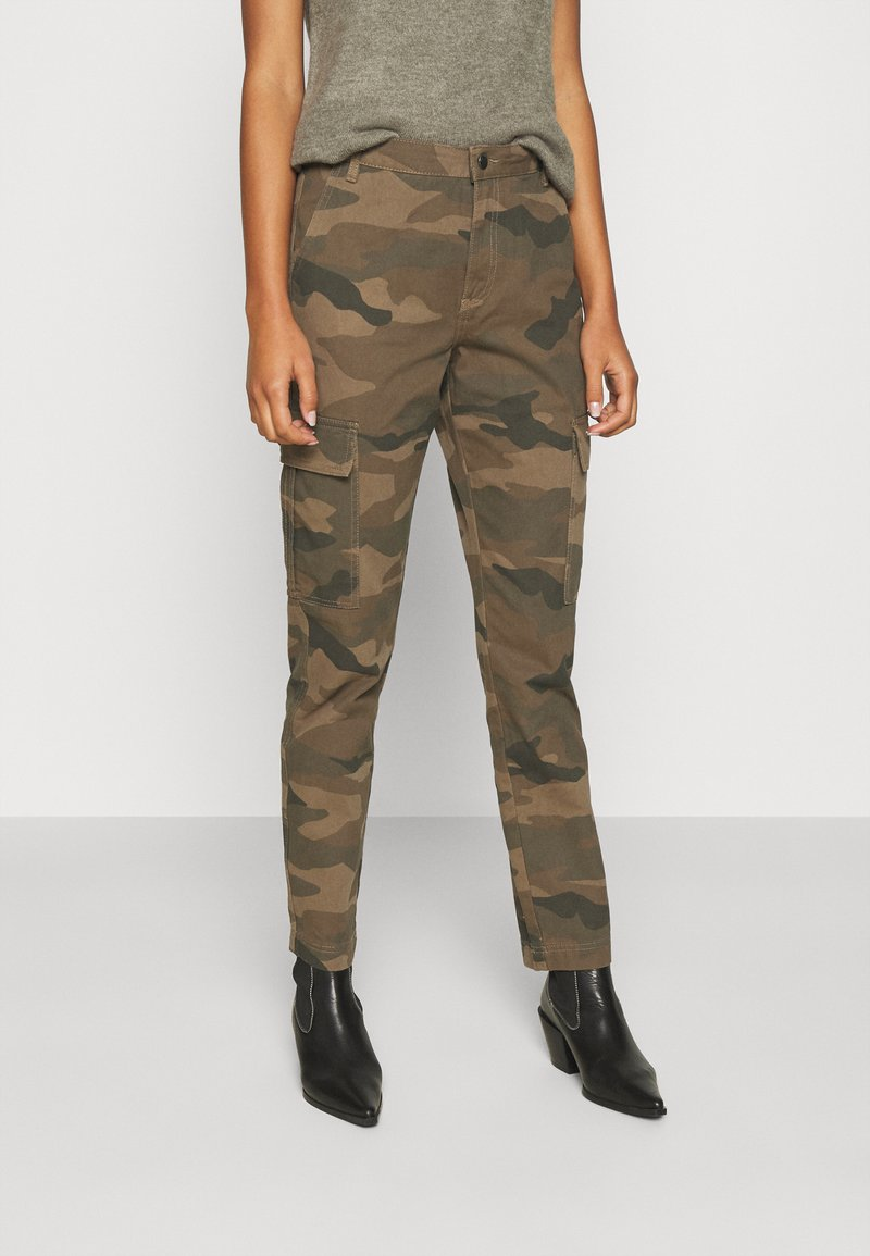 JDY - JDYARMY STRAIGHT PANT - Cargo trousers - kalamata