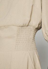 Notes du Nord - TIANNA RECYCLED SHORT DRESS - Vestito estivo - concrete - 5