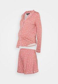 Missguided Maternity - MATERNITY NIGHT SET - Pyžamo - rose - 0