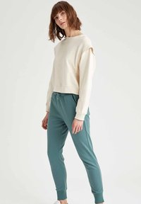 DeFacto - Tracksuit bottoms - green - 3