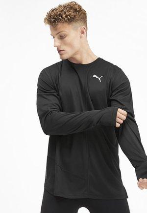 IGNITE  TEE - Maglietta a manica lunga - black