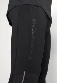 Endurance - TRANNY LONG - Leggings - black - 3