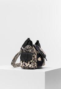 Desigual - BOLS NIGHT GARDEN KYOTO - Across body bag - black - 4