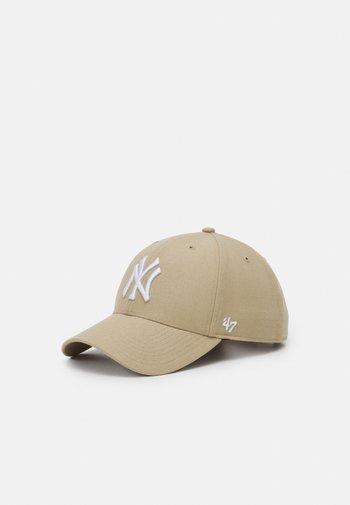 NEW YORK YANKEES SNAPBACK UNISEX - Kšiltovka - beige