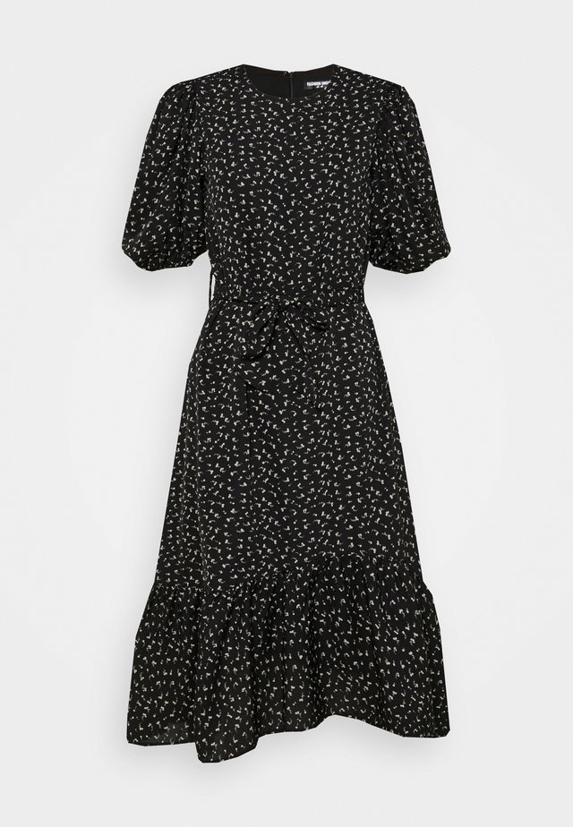 CHESKA DRESS - Kjole - black
