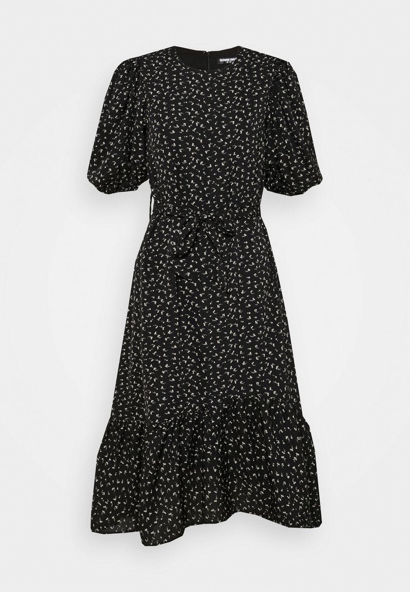 Fashion Union - CHESKA DRESS - Denní šaty - black