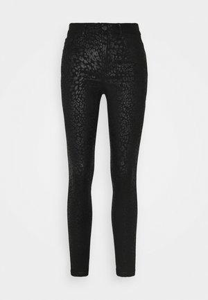 VILEAH EKKO PANTS - Jeans Skinny Fit - black