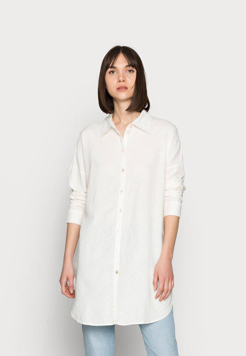 Lindex - SHIRT LUCY - Skjortebluser - white