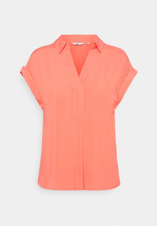 BLOUSE - Blouse - strong peach