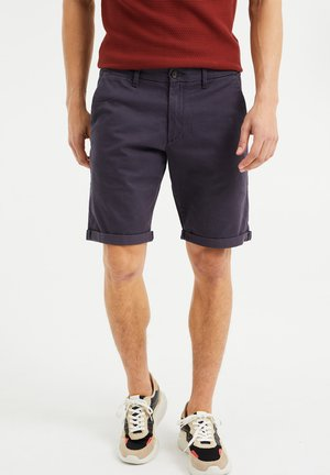 SLIM-FIT - Shorts - greyish blue