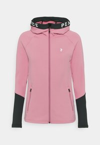 Peak Performance - RIDER ZIP HOOD - Zip-up hoodie - frosty rose - 0