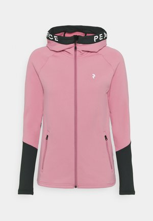 RIDER ZIP HOOD - Zip-up hoodie - frosty rose