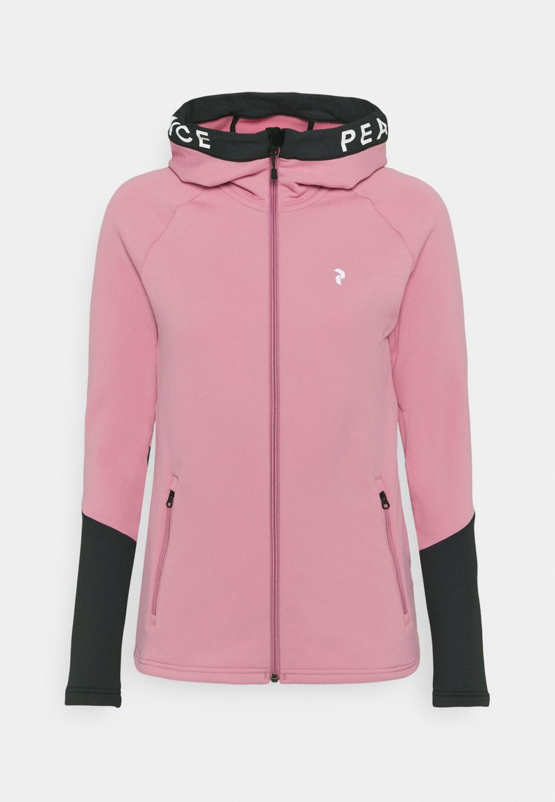 Peak Performance - RIDER ZIP HOOD - Zip-up hoodie - frosty rose