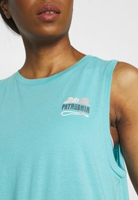Patagonia - SAVE THE SPLITTERS MUSCLE TEE - Toppe - iggy blue - 4