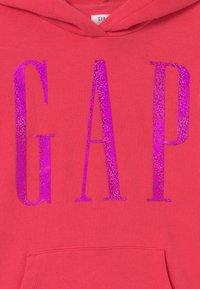 GAP - GIRLS LOGO - Mikina skapucí - rosehip - 2