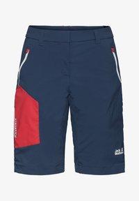 Jack Wolfskin - OVERLAND  - Outdoor shorts - dark indigo - 4