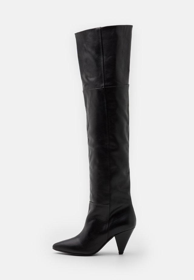 MYRASSA BOOT KNEE 7556 - Over-the-knee boots - black