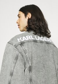 KARL LAGERFELD - JACKET UNISEX - Denim jacket - light grey - 5