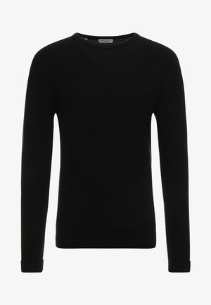 SLHVICTOR CREW NECK - Jumper - black
